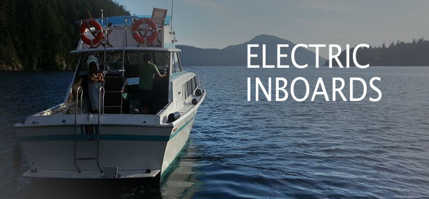 diy electric inboard boat motor