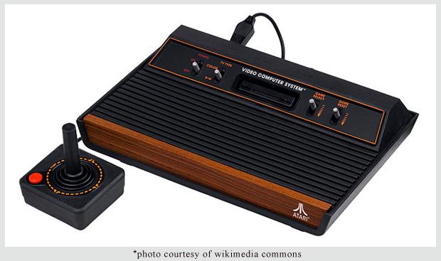 Atari-Wood-Console
